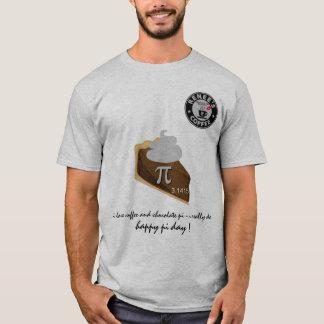幸せなPi日- Reneesのコーヒークラブ1175年のワイシャツ5 Tシャツ