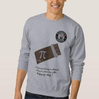 幸せなPi日- Reneesのコーヒークラブ1175年のワイシャツ8 スウェットシャツ
