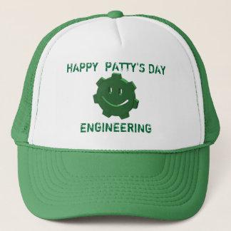 幸せなSt. Patricks日、エンジニアリング、トラック運転手の帽子 キャップ