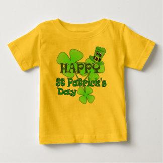 幸せなSt patricks day ベビーTシャツ