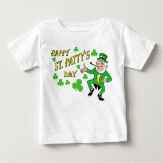 幸せなSt patty's day ベビーTシャツ