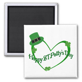 幸せなSt pattys day マグネット