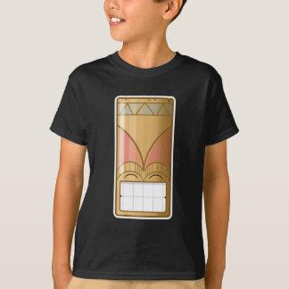 幸せなTiki Tシャツ