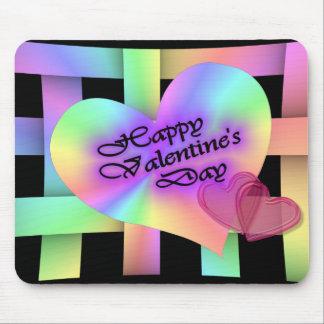 幸せなValentine' s日 マウスパッド