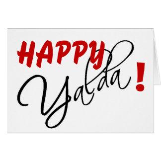 幸せなYalda! カード