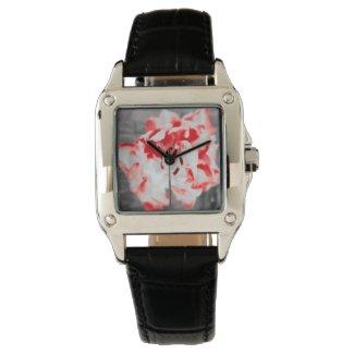 幸せのチューリップと時を刻む Happy tulips and timepieces watch 腕時計