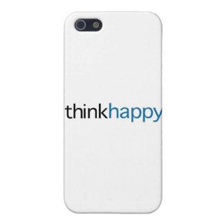 幸せ考えて下さい(青い版) iPhone SE/5/5sケース