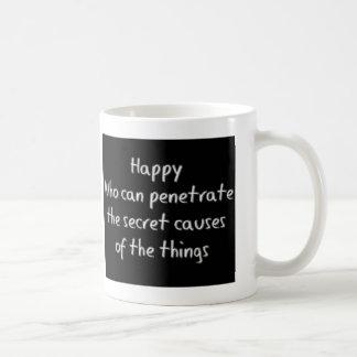 幸せ コーヒーマグカップ
