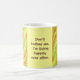 幸福にその後ずっと コーヒーマグカップ