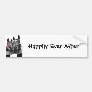 幸福にその後ずっと バンパーステッカー