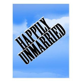 幸福に未婚 ポストカード