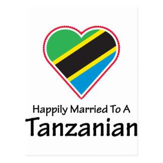 幸福に結婚したなタンザニア人 ポストカード