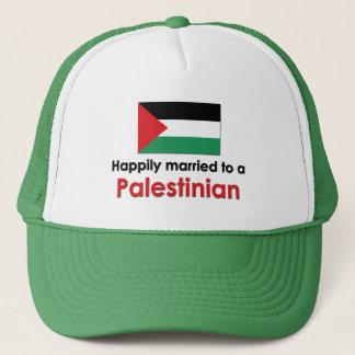 幸福に結婚したなパレスチナ人 キャップ