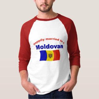 幸福に結婚したなMoldovan Tシャツ