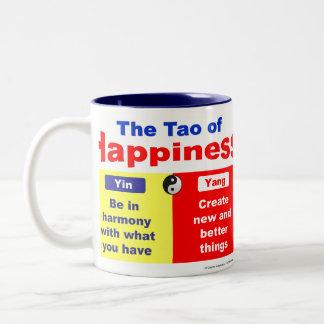 幸福のタオ ツートーンマグカップ