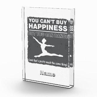 幸福のダンスを買うことができません 表彰盾