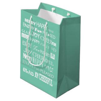 幸福のバッグ ミディアムペーパーバッグ