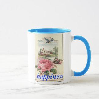 幸福のマグのブルーバード マグカップ