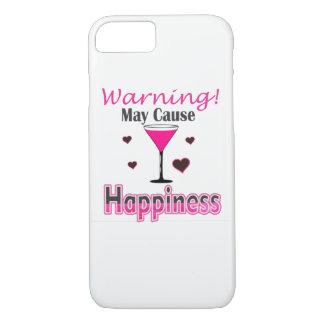 幸福のワインIPhone飲むカバー iPhone 8/7ケース