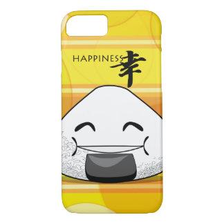 幸福の日本のなマンガOnigiri iPhone 8/7ケース