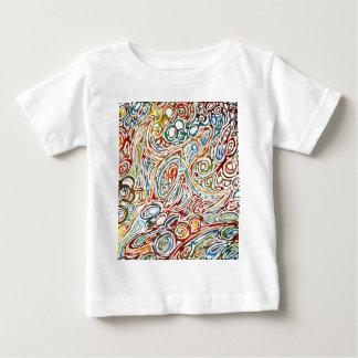 幸福の渦巻 ベビーTシャツ