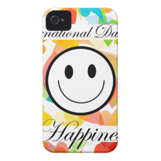 幸福の記念する日の国際的な日 Case-Mate iPhone 4 ケース