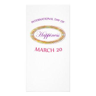 幸福の記念する日の日 カード