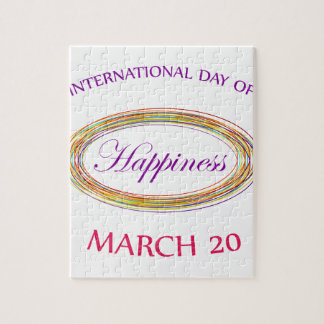 幸福の記念する日3月20日の日 ジグソーパズル