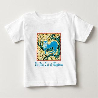 幸福の青猫 ベビーTシャツ