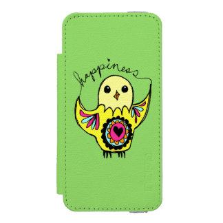 幸福の鳥 INCIPIO WATSON™ iPhone 5 財布 ケース