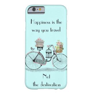 幸福はあなたが入江iPhone6ケースの旅する方法です Barely There iPhone 6 ケース