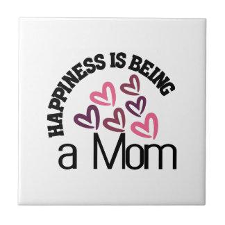 幸福はお母さんです タイル