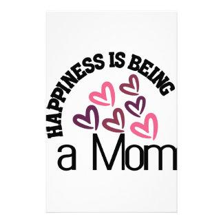 幸福はお母さんです 便箋