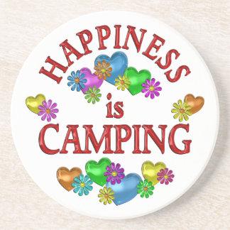 幸福はキャンプしています コースター
