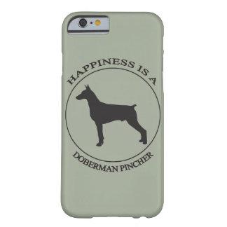 幸福はドーベルマン犬です BARELY THERE iPhone 6 ケース
