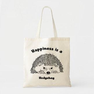 幸福はハリネズミです トートバッグ