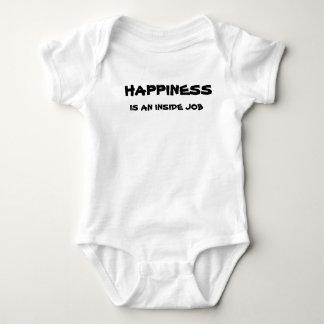 幸福は中仕事-ベビーです ベビーボディスーツ