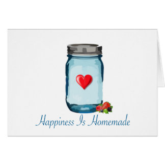 幸福は手製です(メーソンジャー) カード
