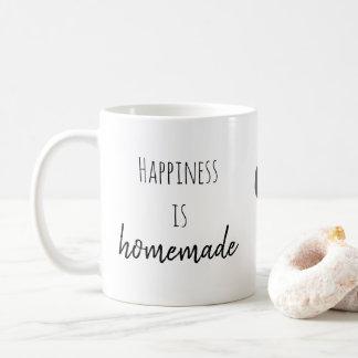 幸福は手製のマグです コーヒーマグカップ