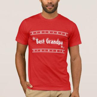 幸福は最も最高のな祖父です Tシャツ