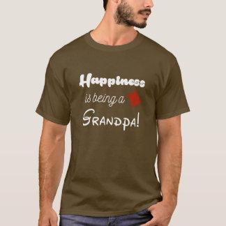 幸福は祖父母です Tシャツ