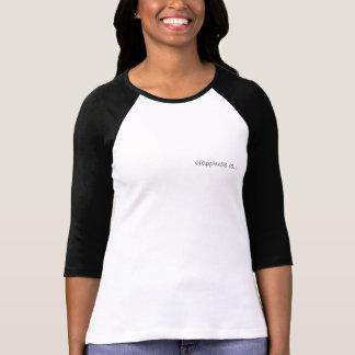 """幸福は私達ワイシャツ3/4""""長さの袖です Tシャツ"""