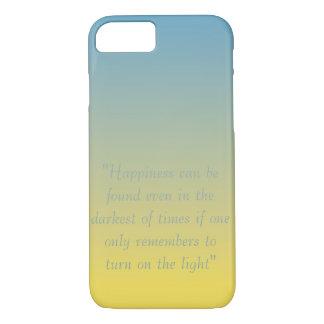幸福は見つけられた引用文のiPhone 7の場合である場合もあります iPhone 8/7ケース
