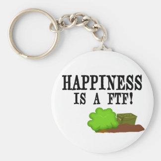 幸福はFTFです! キーホルダー