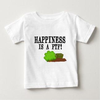 幸福はFTFです! ベビーTシャツ