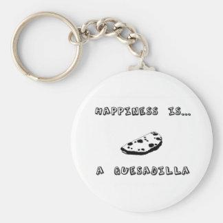 幸福はQuesadillaです キーホルダー