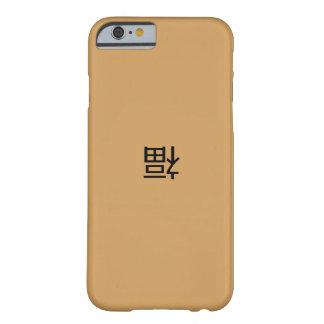 幸福または幸運のiPhoneの場合 Barely There iPhone 6 ケース