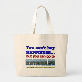 幸福を買うことができません ラージトートバッグ