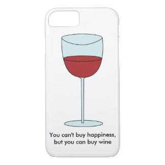 幸福(ワイン)を買うことができません iPhone 8/7ケース