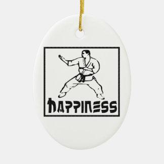 幸福: 武道 セラミックオーナメント